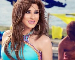 "Najwa Karam Launches ""Yekhreb Baytak"" Video Clip"