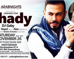Arabnights Presents Star Ghady Ft. DJ Gaby, Aisa, Nayel & Wael
