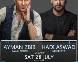 Layali Beirut Ft. Ayman Zbib & Hadi Aswad